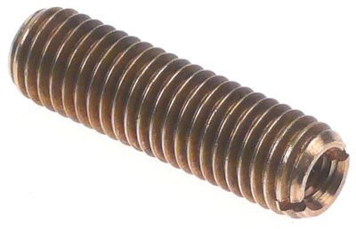 βίδα με σπείρωμα σπείρωμα M10x1,5  Μ 35mm ΕΣ M6  για άξονα μοτέρ