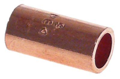 κάλυμμα χαλκός για συγκόλληση ø 6mm εσωτερικό/εσωτερικό ψύξη