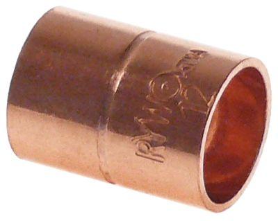 κάλυμμα χαλκός για συγκόλληση ø 12/12mm εσωτερικό/εσωτερικό ψύξη