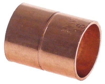 κάλυμμα χαλκός για συγκόλληση ø 16mm εσωτερικό/εσωτερικό ψύξη