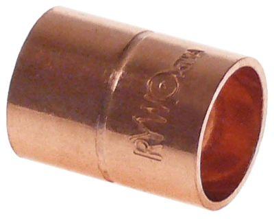 κάλυμμα χαλκός για συγκόλληση ø 14/14 mm εσωτερικό/εσωτερικό ψύξη