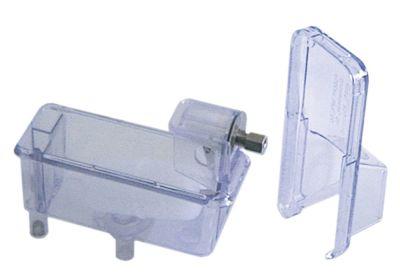 δοχείο φλοτέρ για μηχανή παγακιών Μ 150mm W 65mm H 100mm πλαστικό