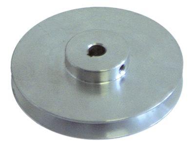 τροχαλία ιμάντα μονό ø δίσκου 100mm ø εισαγωγής άξονα 11mm βάθος εντομής 13mm