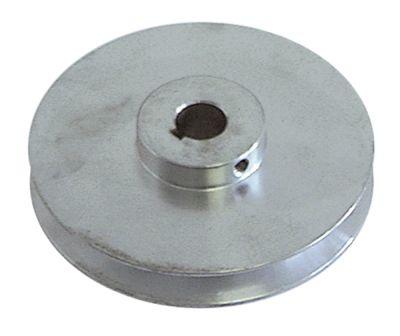 τροχαλία ιμάντα μονό ø δίσκου 100mm ø εισαγωγής άξονα 16mm βάθος εντομής 13mm