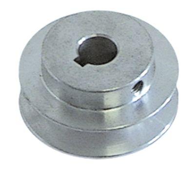 τροχαλία ιμάντα μονό ø δίσκου 60mm ø εισαγωγής άξονα 14mm βάθος εντομής 13mm