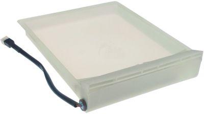 δίσκος συμπύκνωσης θερμαινόμενο Μ 410mm W 300mm H 80mm 230V 230W