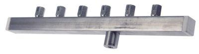 βραχίονας ψεκασμού Μ 290mm ακροφύσια 6 ανοξείδωτος χάλυβας για παγομηχανή