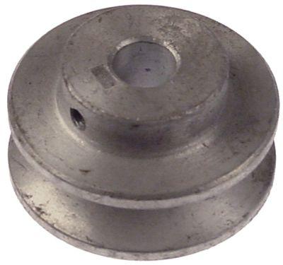 τροχαλία ιμάντα μονό ø δίσκου 56mm ø εισαγωγής άξονα 13mm βάθος εντομής 13mm