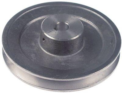 τροχαλία ιμάντα μονό ø δίσκου 128mm ø εισαγωγής άξονα 16mm βάθος εντομής 2,5mm