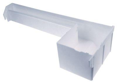 δοχείο νερού για παγομηχανή Μ 697mm W 260mm H 148mm λευκό