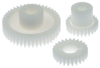 οδοντωτός τροχός σετ ø 40/70 mm ø εισαγωγής άξονα 12/14/17 mm πλαστικό
