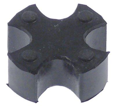 κάλυμμα καουτσούκ ø 27mm για σύνδεση κατάλληλο για TELME  H 11mm