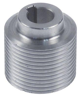 τροχαλία ιμάντα εντομές 12 ø δίσκου 38mm ø εισαγωγής άξονα 14mm πλάτος δίσκου 30mm