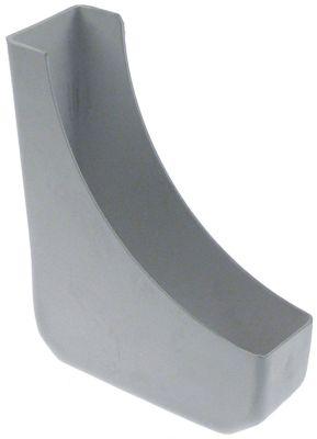 δοχείο αποχέτευσης Μ 160mm W 55mm H 200mm πλαστικό