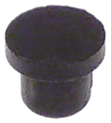 εξάρτημα ø διάταξης στερέωσης 7mm ø 9.9mm H 8mm ελαστικό Ποσ. 3 τεμ.
