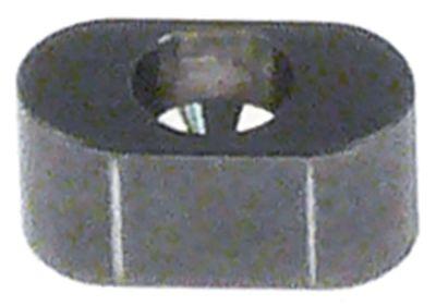 παξιμάδι με υποδοχή για κινητήριο άξονα Μ 14mm PPJ/LCJ