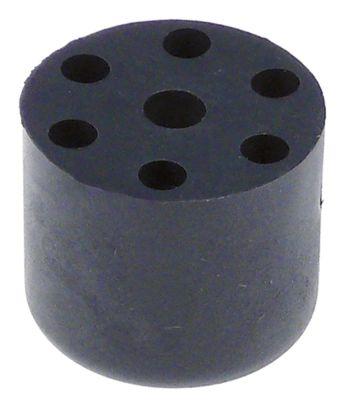 ποδαράκι ø 29mm H 25mm εσωτερική ø 6,5mm Ποσ. 4 τεμ. για συσκευή NT05