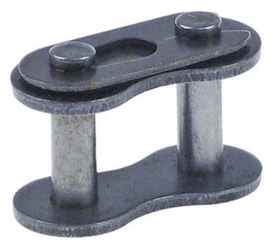 σύνδεσμος απλό DIN/ISO 10 B-1  διαχωρισμός 5/8″  ενώσεις 1 Μ 29,5mm εσωτερικό πλάτος 13,5mm
