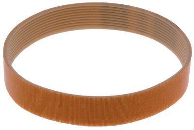 τραπεζοειδής ιμάντας συνθετικός εντομές 10 W 23,5mm Μ 381mm προφίλ TB2.34