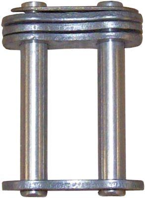 σύνδεσμος διπλό DIN/ISO 08 B-2  διαχωρισμός 1/2″  ενώσεις 1