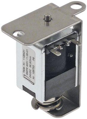 μαγνήτης 24V τάση DC  Μ 55mm W 26mm H 68mm