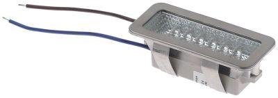 λαμπτήρας LED 1,5W 12V Μ 75mm W 32mm H 28mm μήκος καλωδίου 100mm Ποσ. 1 τεμ.