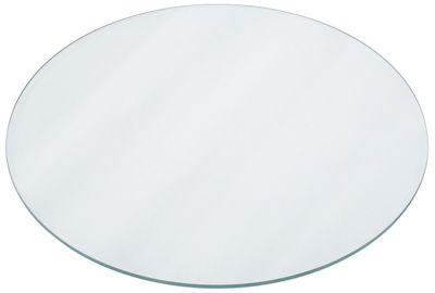 γυάλινη πλάκα ø 390mm πάχος 6mm