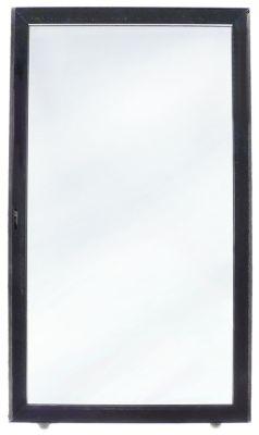 γυάλινη πόρτα W 440mm H 770mm με κλειδαριά θέση στερ. κέντρο
