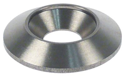 ροδέλες για διαχωρισμό μερίδων με στρογγυλεμένα άκρα ø 9-28mm H 5mm