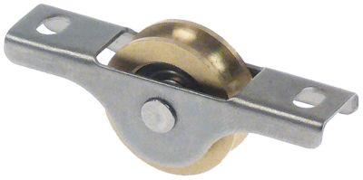 οδηγός κυλίνδρου Μ 52mm W 12mm H 22mm  - θέση στερ. πόρτα øράουλου 18mm