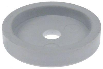 κύλινδρος ολίσθησης για συμπυκνωτή θέση στερ. πάνω ø 30mm ø αναγν. 5.4mm H 5.7mm πλαστικό