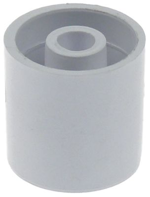 κύλινδρος ολίσθησης για συμπυκνωτή ø 22mm ø αναγν. 6mm H 22mm πλαστικό