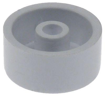κύλινδρος ολίσθησης για συμπυκνωτή θέση στερ. πάνω ø 24mm ø αναγν. 4.9mm H 11mm πλαστικό