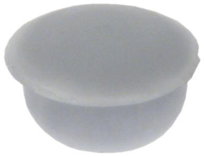 κάλυμμα για βίδα W 11mm H 6mm λευκό