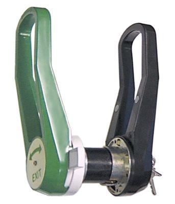 κλείστρο ψυκτικού θαλάμου πάχος πόρτας 80mm Μ 299mm H 57mm W 98mm περιστροφή δεξιά