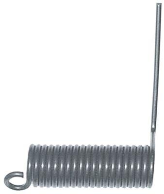 ελατήριο στρέψης ø 25.8mm Μ2 71mm ø διατομής σύρματος 3.7mm Μ1 79mm Μ3 13mm