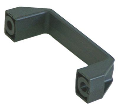 λαβή βραχίονα Μ 150mm H 45mm απόσταση στερέωσης 132mm ανθεκτ. στη θερμ. 150°C
