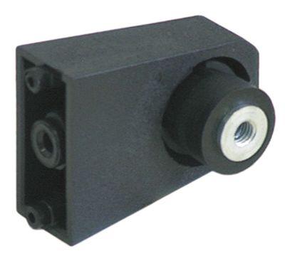 κονσόλα H 42mm πλαστικό στρογγυλός σωλήνας ø 17mm