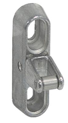 κλείστρο πόρτας H 69mm D 37mm W 20mm απόσταση στερέωσης 43mm με κύλινδρο