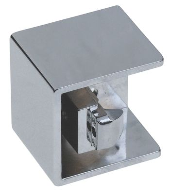 κλείστρο πόρτας πάχος 28-32 mm W 55mm Μ 55mm χρώμιο απόσταση στερέωσης 20x12 mm