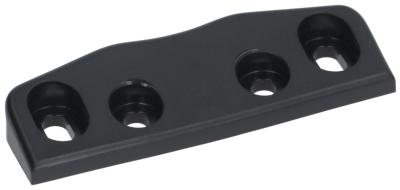 κλείστρο πόρτας πάχος 11mm W 18mm Μ 80mm μαύρο απόσταση στερέωσης 28/60 mm αρ. 3.31.0760.0  ψύξη