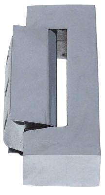 μέρος μεντεσέ Μ 127mm απόσταση στερέωσης 27/27 mm περιστροφή αριστερά/δεξιά χωρίς μηχανισμό ανύψωσης