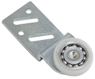 κύλινδρος øράουλου 25mm B1 6mm με βάση ZCS/νάιλον θέση στερ. εμπρός ρουλεμάν ρουλεμάν Ποσ. 1 τεμ.