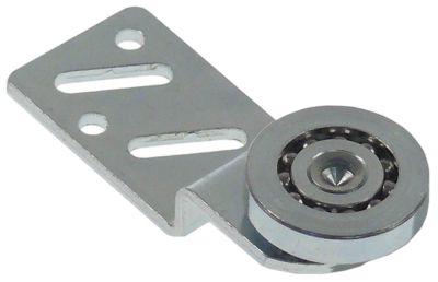 κύλινδρος øράουλου 25mm B1 5,6mm με βάση ZCS/ZCS θέση στερ. εμπρός ρουλεμάν ρουλεμάν Ποσ. 1 τεμ.