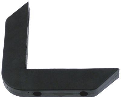 γωνιακός προφυλακτήρας εξωτερικό μήκος 165mm εσωτερικό μήκος 130mm W 40mm H 30mm
