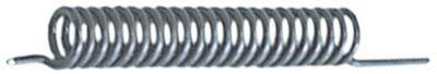 ελατήριο στρέψης ø 16.5mm ø διατομής σύρματος 2.6mm Μ1 35mm Μ2 101mm Μ3 16mm