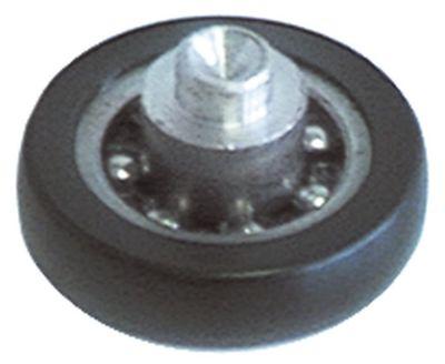 κύλινδρος øράουλου 25mm B1 6mm συνολικό πλάτος 10mm A 25mm B 6mm C 10mm D 6mm