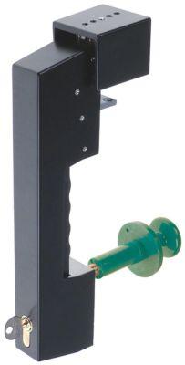 κλείστρο ψυκτικού θαλάμου πάχος πόρτας 65-80 mm τύπος G 995  Μ 300mm W 35mm H 70mm
