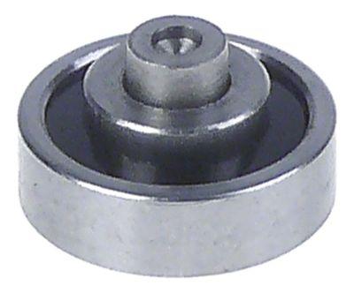 κύλινδρος øράουλου 19mm B1 6mm συνολικό πλάτος 8mm A 19mm B 6mm C 8mm D 6mm E 11mm πάτημα με πιρτσίνι