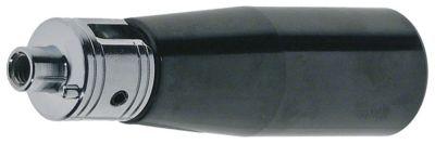 λαβή πτυσσόμενη ø 25mm ø έδρας 19mm ø άξονα 8mm σπείρωμα M6  με άξονα και πείρο Μ 82mm